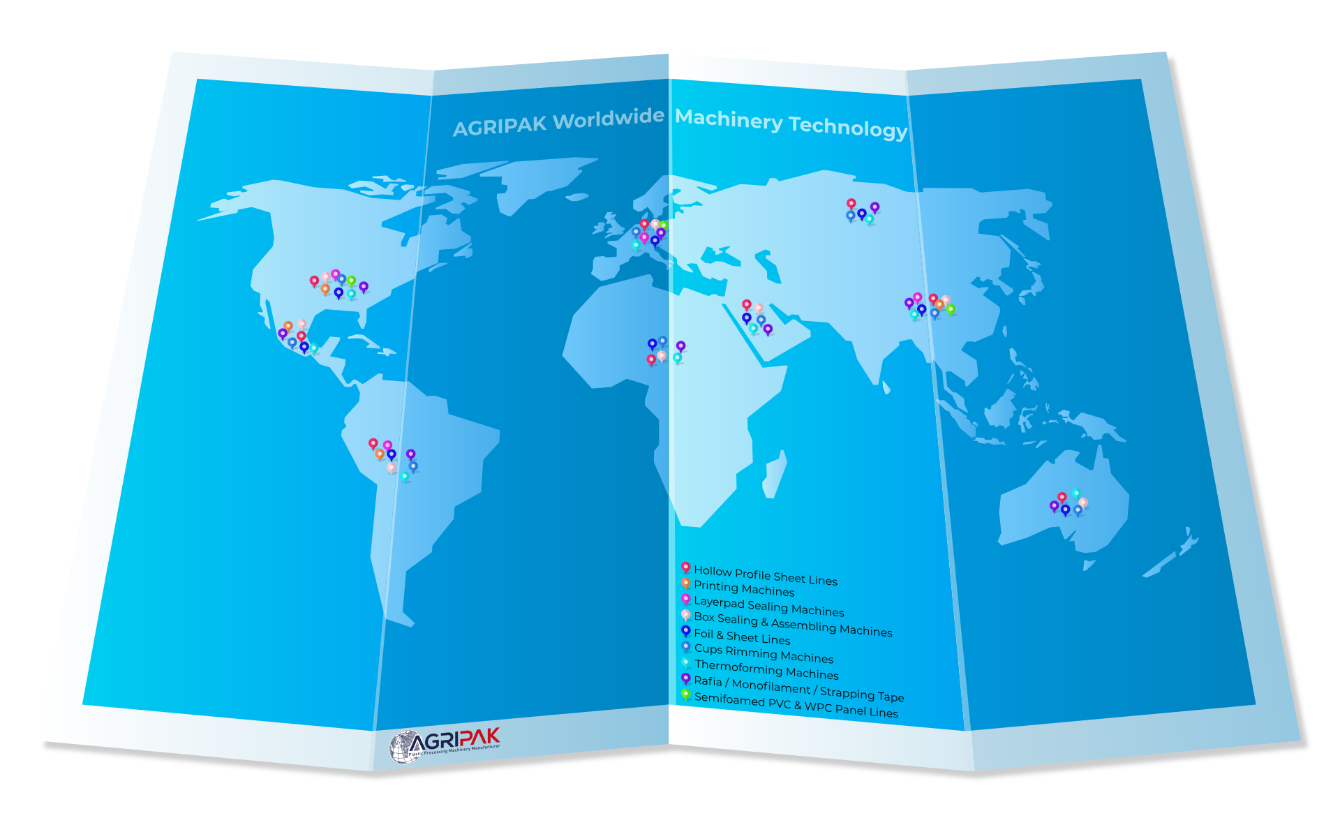 Agripak Worldwide Technology Map