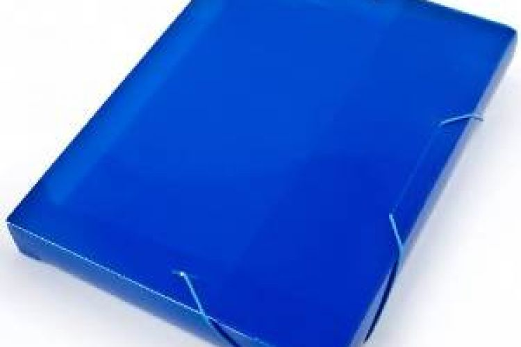 Plastic sheet stationary