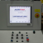 CARTONPLAST – main operator panel